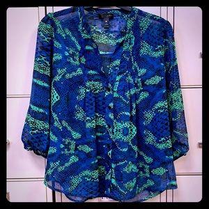 Quarter length sheer blouse by Aqua